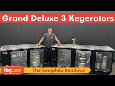 Grand Deluxe 3 - The Kegerator/Keg Fridge Rundown