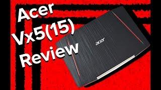 Review  Acer Aspire VX15 - VX5-591G-78BF