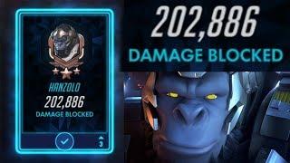 200,000+ Damage Blocked (Overwatch Mayhem)