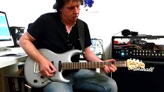 21st Century Blues (Steve Lukather/Toto) Guitar solo performed by Guido Bungenstock