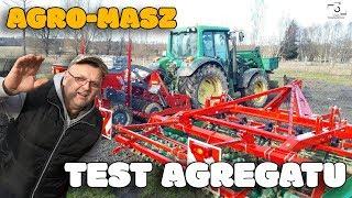 Agregat Agro Masz Test Maszyny w Polu ☆ Markowy Vlog #7