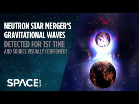 Neutron Star Merger Detected in Multiple 'Messages'