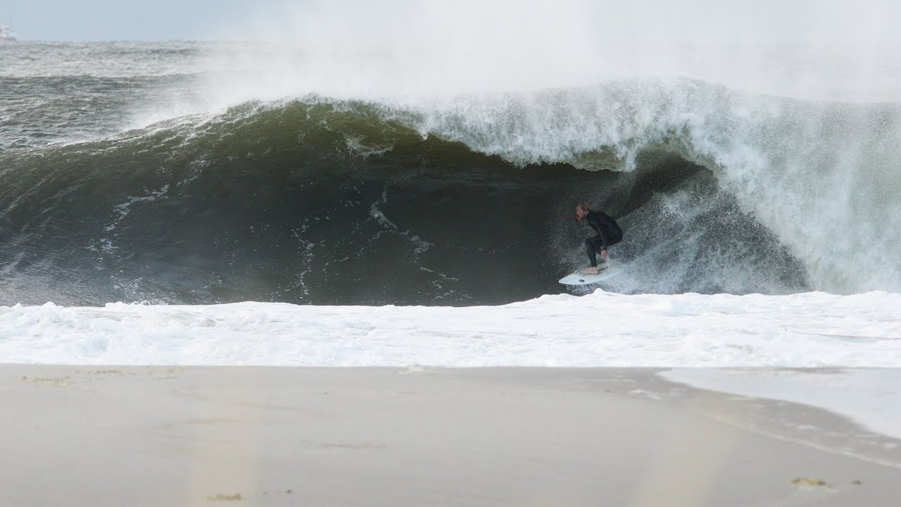 Historic Fall Surf in the Northeast