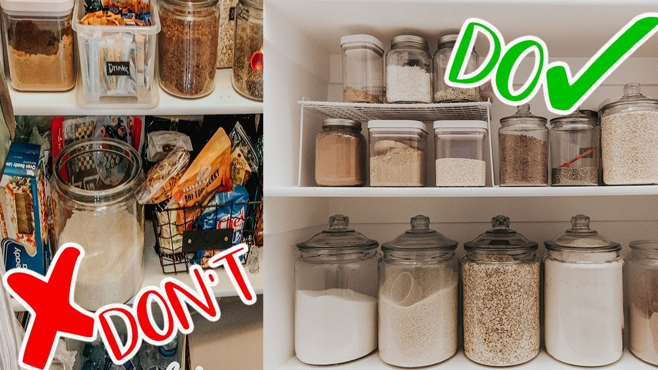ORGANIZING HACKS IN MY KITCHEN || Marie Kondo Method Does it Work? - YouTube