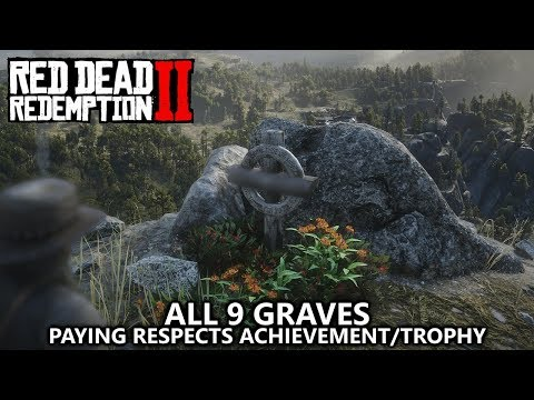 Red Dead Redemption 2 - All 9 Graves Locations Guide - Paying Respects Achievement/Trophy Guide