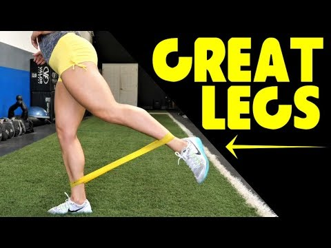 TOP 5 MUST DO Mini Band Exercises for Great Legs