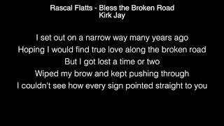 Kirk Jay - Bless the Broken Road Lyrics (Rascal Flatts) The Voice Video