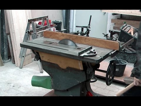 A matching table saw