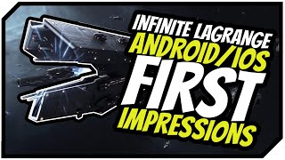 Infinite Lagrange: FIRST IMPRESSIONS | New Android/iOS Sci Fi Strategy Game screenshot 2