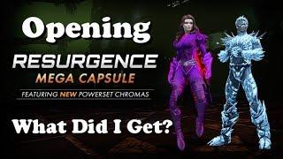 DCUO: Opening MEGA Resurgence Time Capsules!