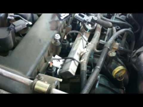 Intake manifold replacement Ford Escape Mazda Tribute 2.3L  Install Remove Replace