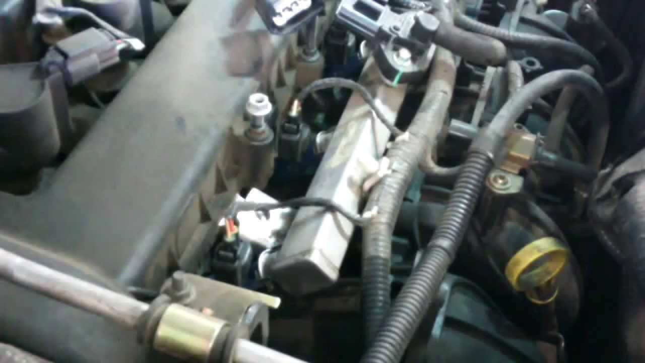 Intake manifold replacement Ford Escape Mazda Tribute 2.3L Install on