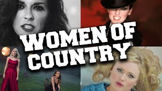 Top 50 Today's Most Listened Female Country Songs in April 2020