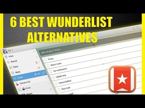 Wunderlist alternative - the 6 Best Wunderlist alternatives now that Microsoft is killing it thumbnail