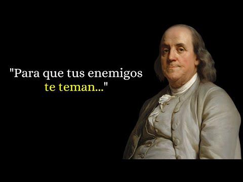 45 Bonitas Frases De Benjamin Franklin Narradas