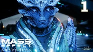 Mass Effect Andromeda - Planetside - Prologue: Hyperion - Gameplay Walkthrough Part 1 No Commentary