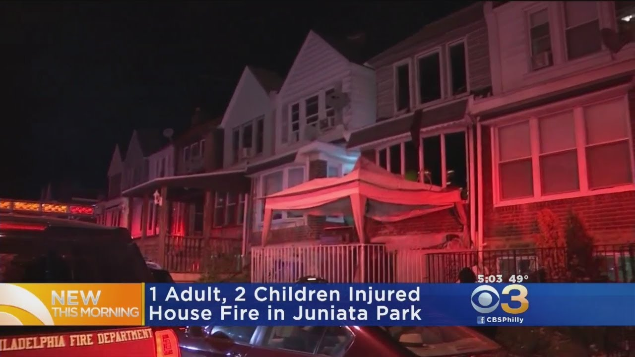 Juniata Park Home Fire Injures 3, Including 2 Kids