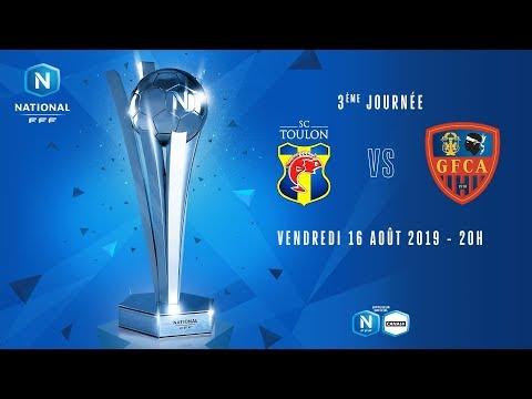 3e journée : Toulon - Ajaccio I National FFF 2019-2020
