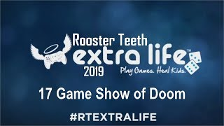 RT Extra Life 2019 - 17 : Game Show of Doom
