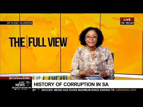 History of corruption in South Africa: Prof. Steven Friedman