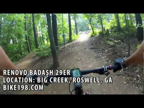 Renovo Badash 29er Mountain Bike Ride Video