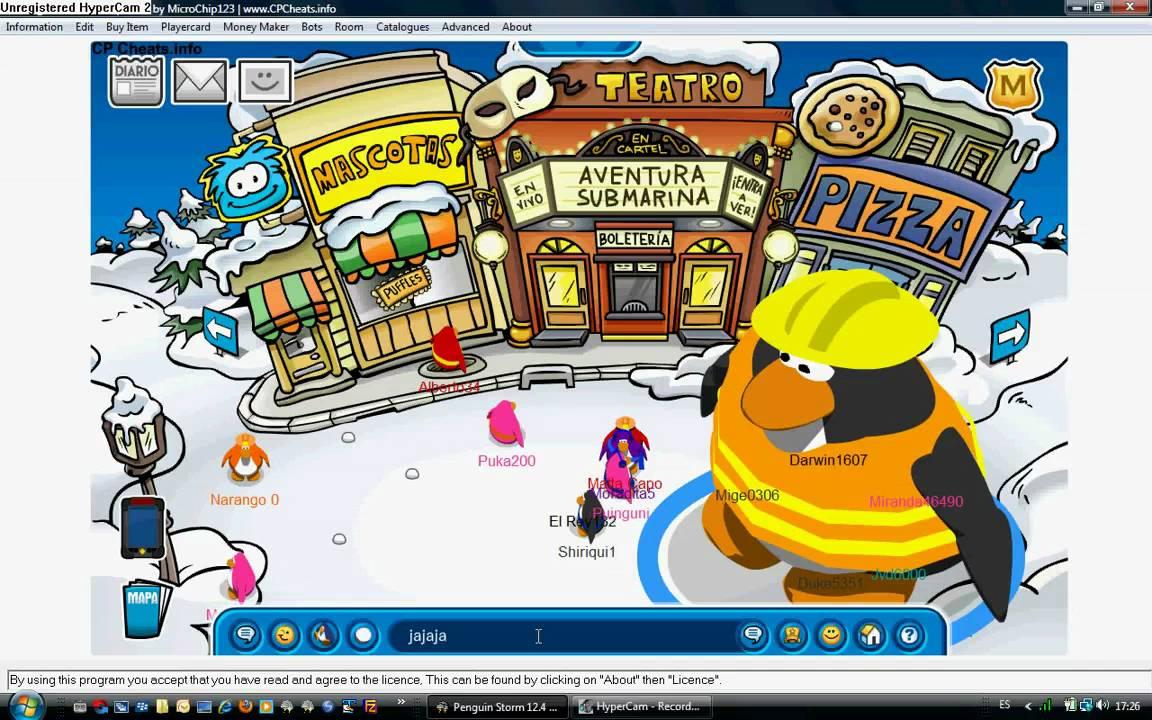 como hacerse grande en free penguin