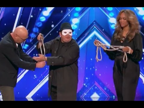 The Man of Mystery With Some Mysteriousness | Week 1 | America's Got Talent 2017