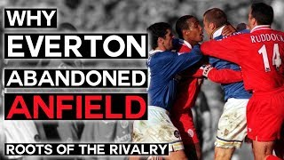 Why Liverpool Split from Everton & Swapped Kit Colours | Merseyside Derby | Roots of the Rivalry