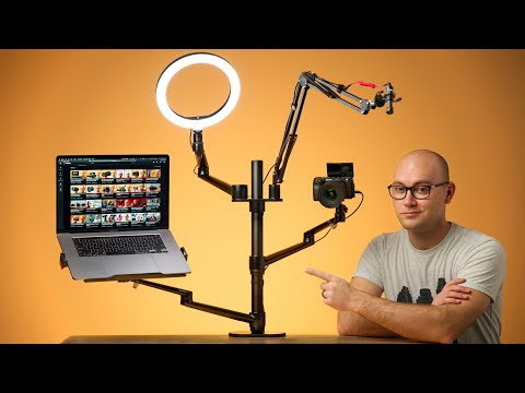 This $130 Video Desk Setup Rocks!