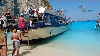 Navagio Beach and the Blue Caves in Zante with CruiseMar
