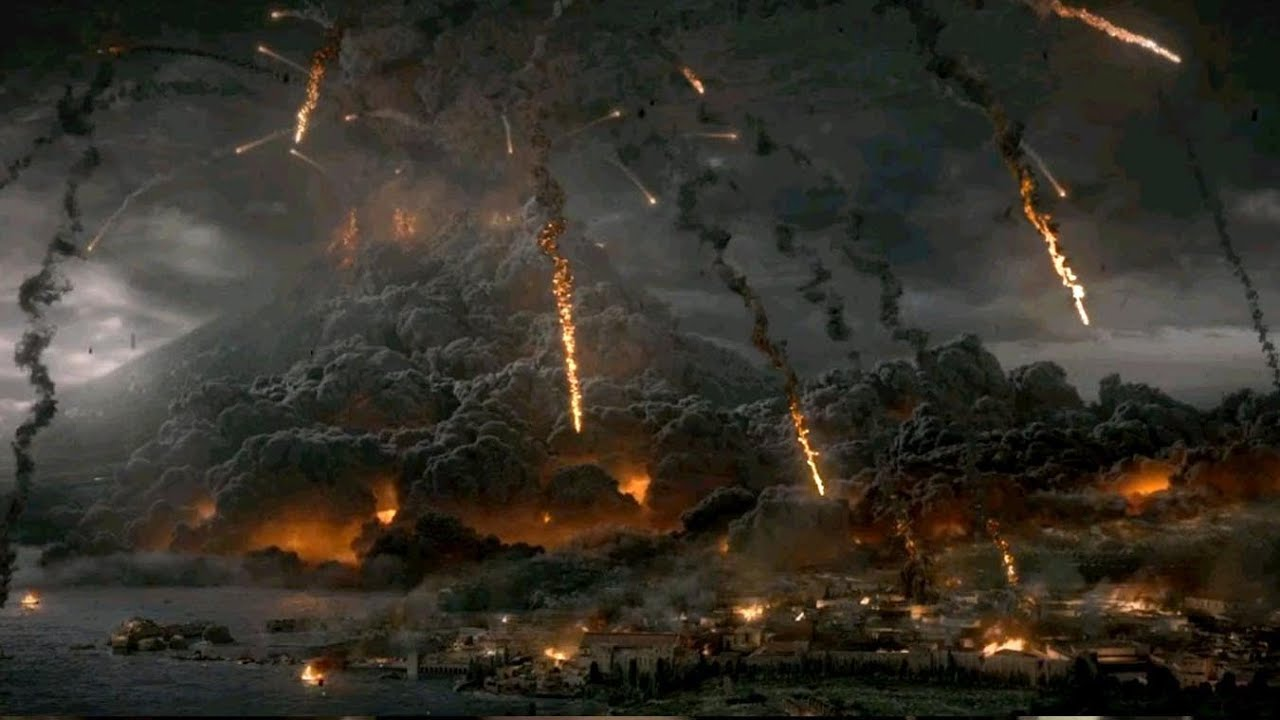 pompei volcan - Photo