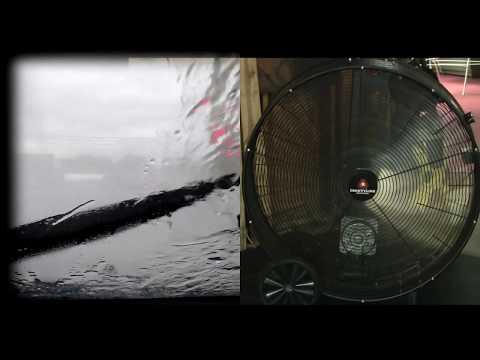 CAR WASH HUMMING + FAN NOISE = White Noise Loud Fan Noise