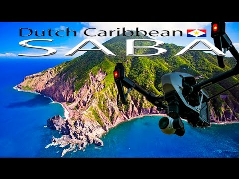 SABA Dutch Caribbean ~ Windwardside ~ Hells Gate ~ Bottom ~ St Johns ~Epic Drone ~ WeBeYachting.com
