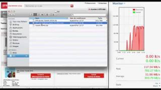 Download Fibre à 850 Mb/s par SFR