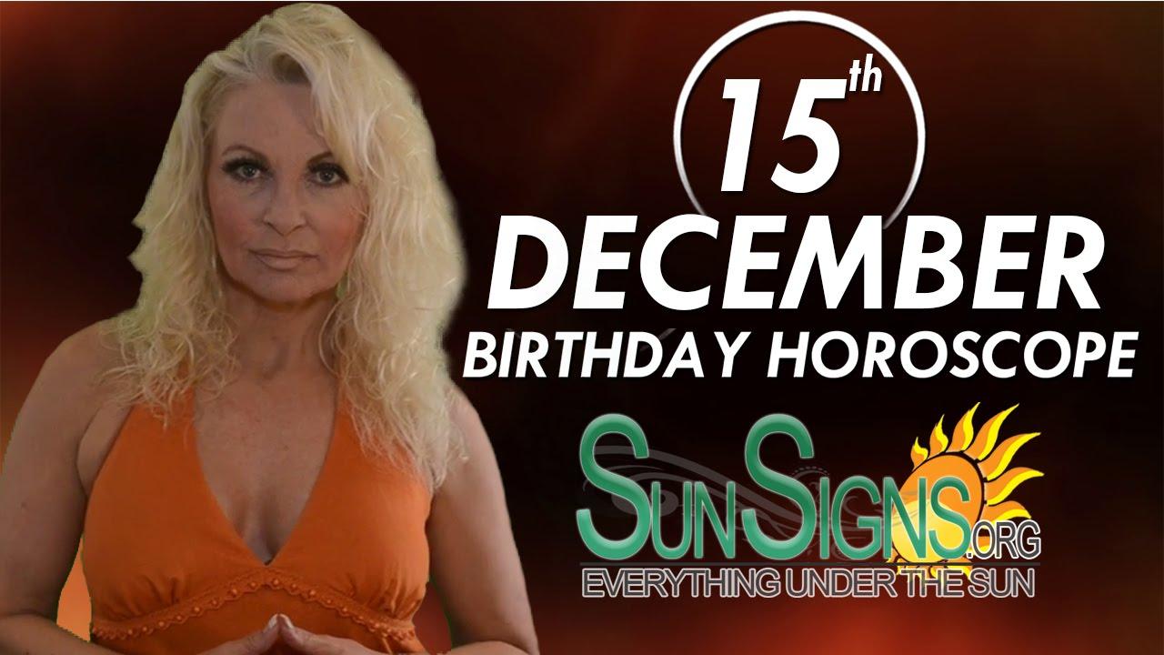 december 15 birthday astrology tlc