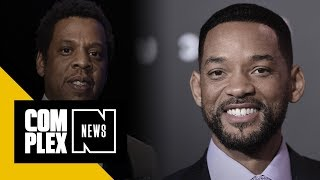 JAY-Z Told Will Smith He'd 'Never' Top That Red Carpet Slap Video