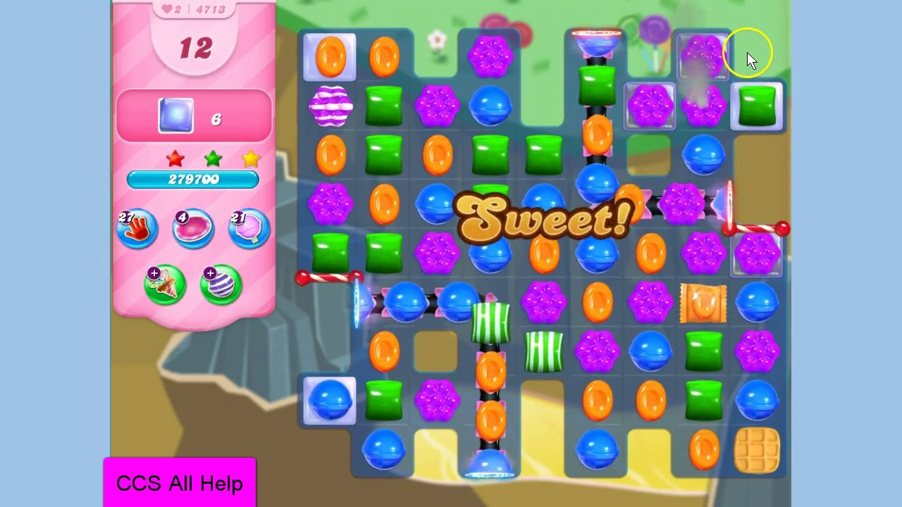 Candy Crush Saga Booster Weg