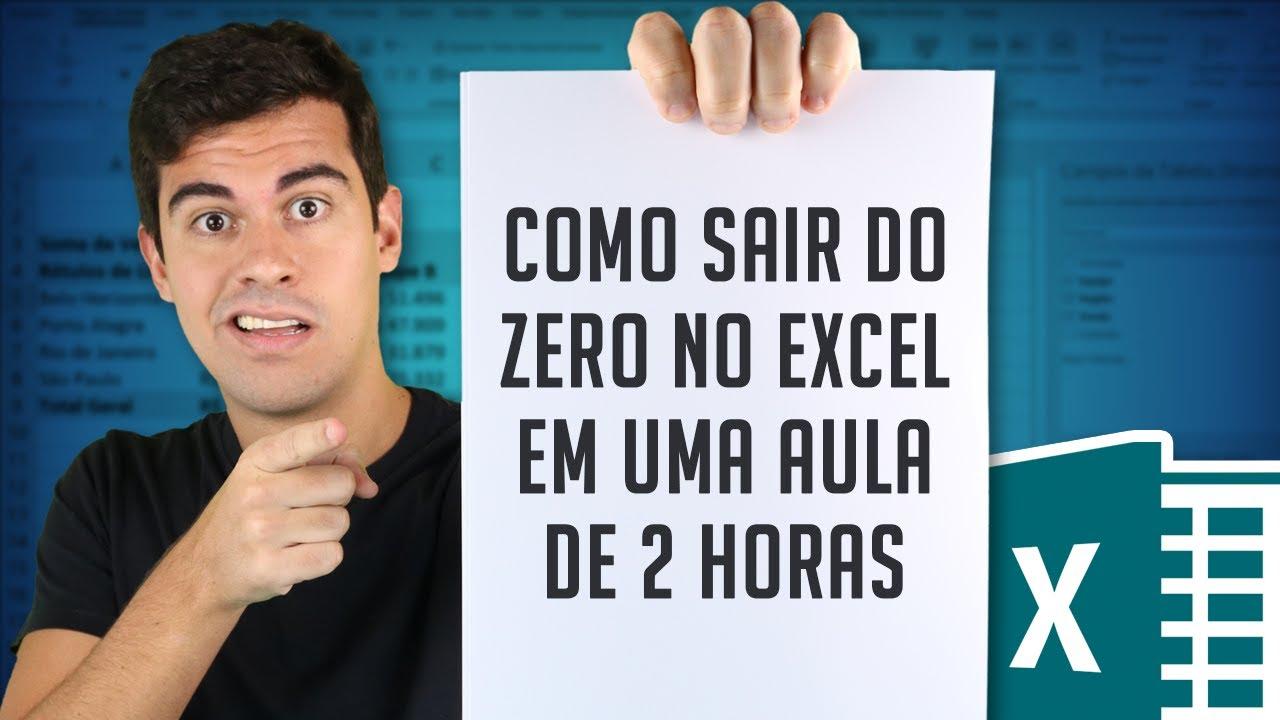 Download Como sair do zero no Excel - Curso básico em 120 minutos