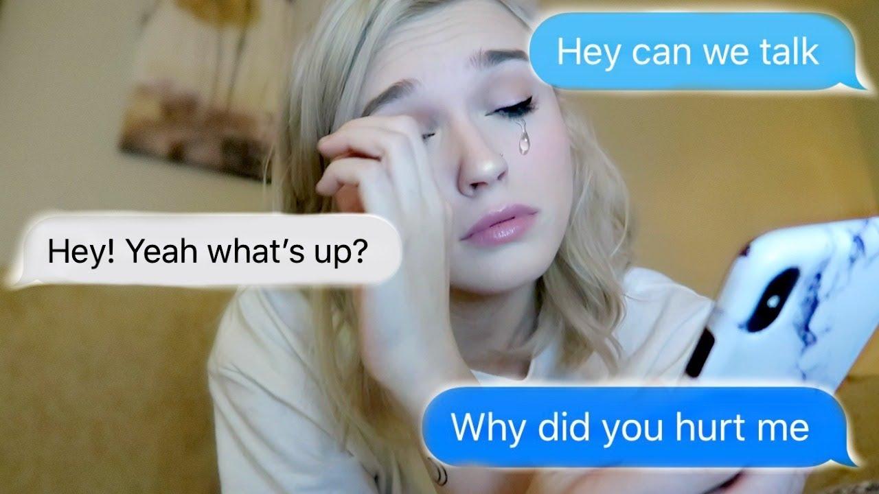 Texting my EX bestfriend that hurt me