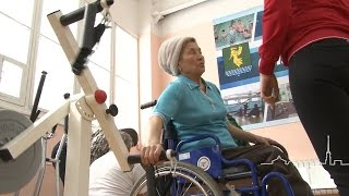Физкультурно-оздоровительный зал для инвалидов пополнился новыми тренажерами(Месяц назад в Ангарске открыт зал для людей с ограниченными возможностями. Помещение набирает все большую..., 2016-03-04T08:22:05.000Z)