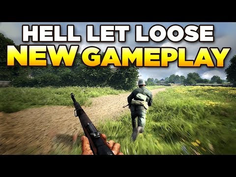 HELL LET LOOSE - NEW Gameplay - Brecourt Manor First Look