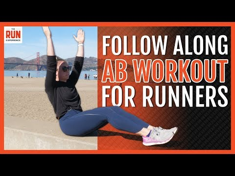 Follow Along Ab Workout For Runners