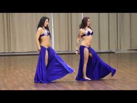 Duet Oasis Dance- Ebru Becker & Vera Ershova - winners of an open cup on bellydance 2014.