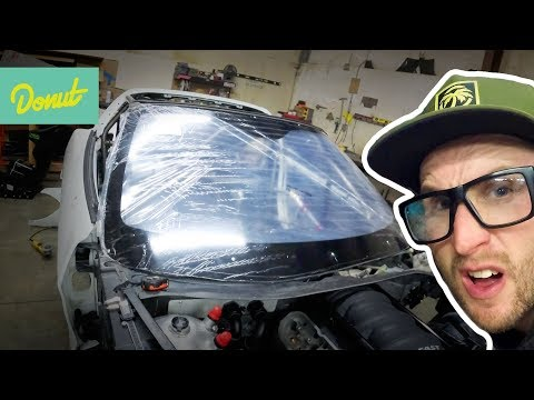 Shatterproof Windshield & Crashproof Fuel Tank? | Drift Corvette Build w/Matt Field