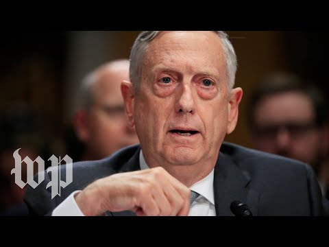 Mattis testifies to House on the Nuclear Posture Review