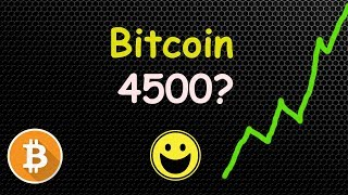 OH YES! Bitcoin Going To 4500 NEXT? 🔴 LIVE