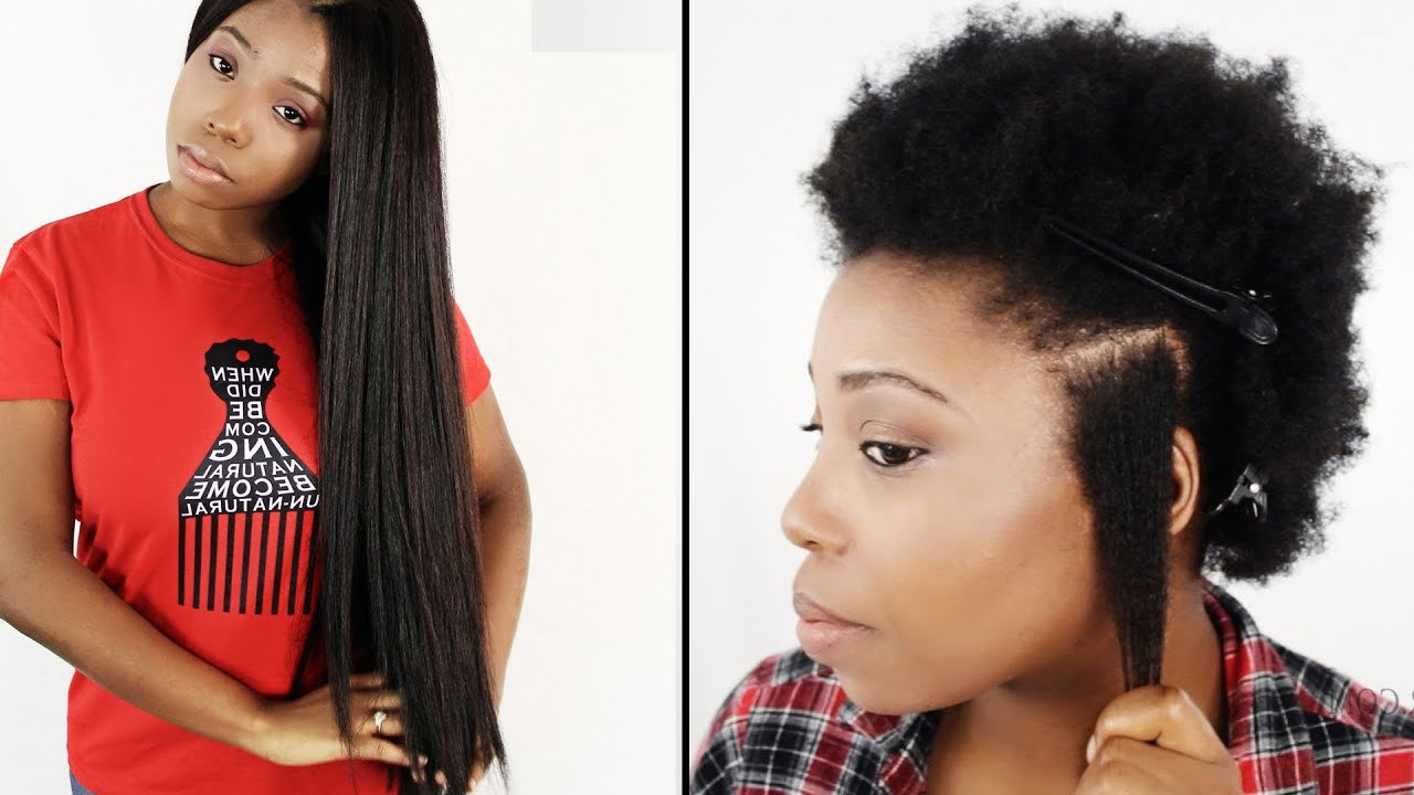 The Difference Between Detangling Relaxed Hair And Natural