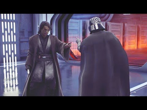 Star Wars Battlefront 2 - Funny Moments #31 Anakin Skywalker thumbnail