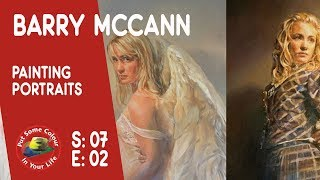 How to paint portraits in acrylics with master artist Barry McCann I Colour In Your Life