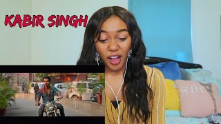 Kabir Singh – Official Teaser | Shahid Kapoor, Kiara Advani | REACTION